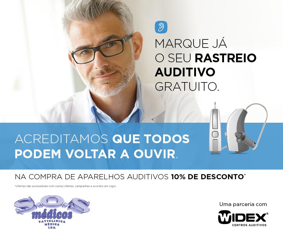 widex | S.O.S Medicos Tavira